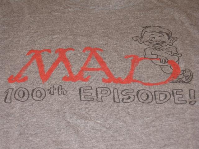 MAD - The Animated TV Series / Promotional 100th Episode T-Shirt • USA