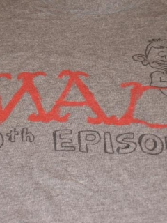 Go to MAD - The Animated TV Series / Promotional 100th Episode T-Shirt • USA