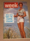 Picture Week Magazine / August 27, 1955 Edition - w/ MAD Magazine Article
