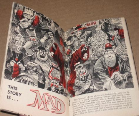 Picture Week Magazine with MAD Magazine Article • USA