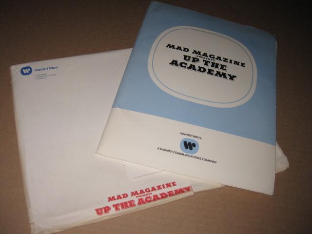 Up The Academy Original Movie Press Kit w/ Original Envelope • USA