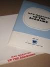 Up The Academy Original Movie Press Kit w/ Original Envelope