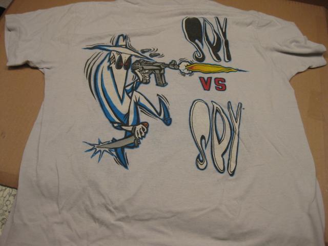 T-Shirt 1980's MAD Magazine / Spy vs. Spy • USA