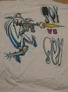 1980's MAD Magazine / Spy vs. Spy T-Shirt (USA) Manufactor: Sun Sportswear Publication Date: 1980