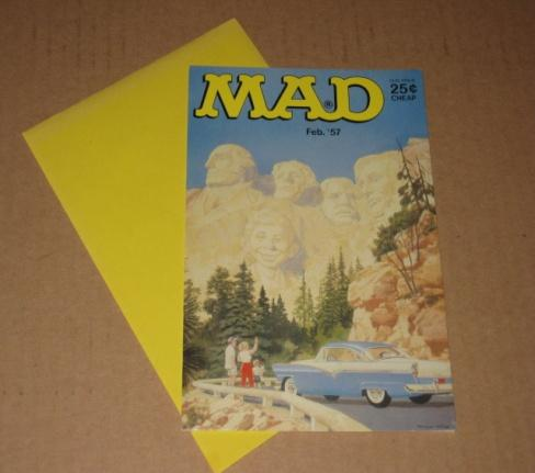 Greeting Card - Mount Rushmore Cover • USA
