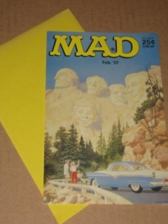 Go to Greeting Card - Mount Rushmore Cover