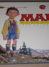 1990 MAD Magazine Wall Calendar Display Sign (USA) Manufactor: Landmark General Corporation Publication Date: 1988