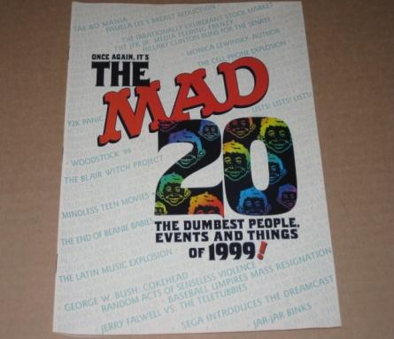 The 20 Dumbest People, Events, and Things Of 1999 - MAD Magazine Mini Issue • USA
