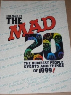 Go to The 20 Dumbest People, Events, and Things Of 1999 - MAD Magazine Mini Issue • USA