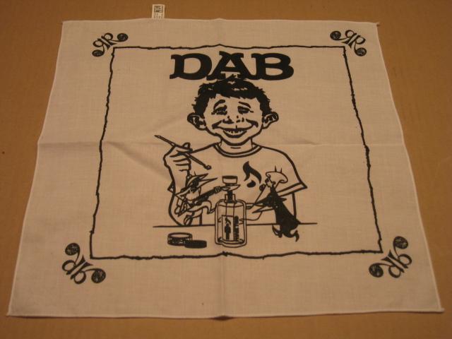 DAB Bandana / Neckerchief MAD Magazine Logo Swipe • USA