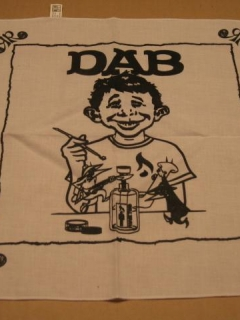 Go to DAB Bandana / Neckerchief MAD Magazine Logo Swipe • USA