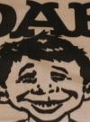 Image of DAB Bandana / Neckerchief MAD Magazine Logo Swipe