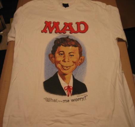T-shirt Alfred E. Neuman • USA