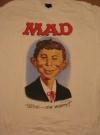 Alfred E. Neuman T-shirt (USA) Manufactor: CIA Publication Date: 1987