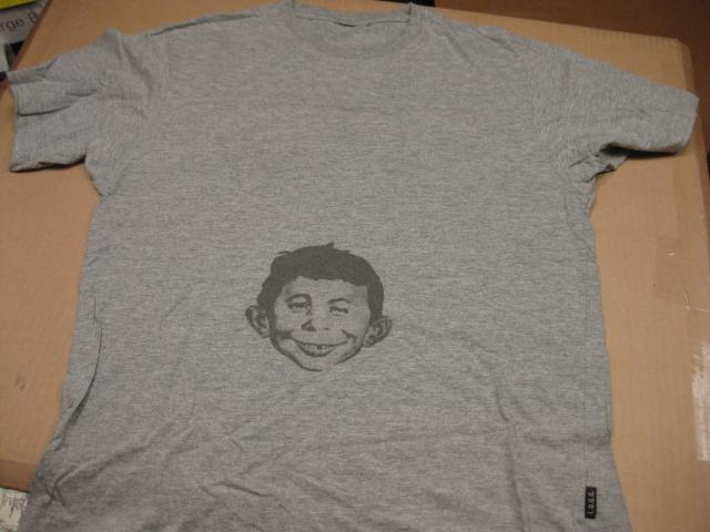 T-shirt Alfred E. Neuman / L.O.G.G. • USA