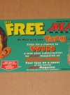 TANG / MAD Magazine Official Sweepstakes Entry Form (USA) Publication Date: 1997