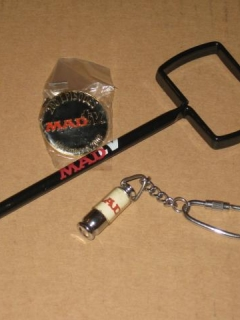 MAD TV Pen, Pin, and Keychain Lot • USA