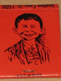 Go to Matchbook Baker's Beanery with Alfred E. Neuman • USA