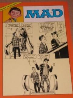 Go to MAD Magazine Greeting Card - Dave Berg / Sergio Aragones Art