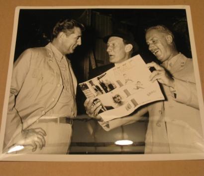 Original Letters Page Photo (Unused) - Robert Mitchum • USA
