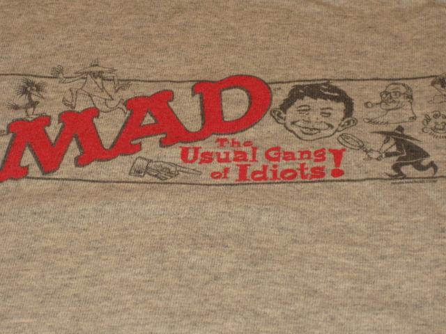 T-Shirt MAD Magazine / Usual Gang Of Idiots • USA