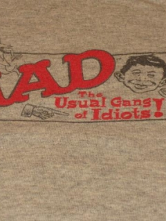 Go to T-Shirt MAD Magazine / Usual Gang Of Idiots • USA