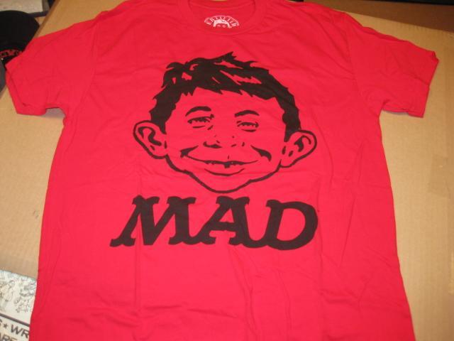 T-Shirt Alfred E. Neuman / Certified MAD • USA
