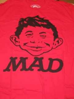 Go to T-Shirt Alfred E. Neuman / Certified MAD • USA