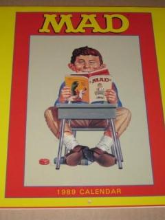 Go to Calendar 1989 MAD Magazine • USA