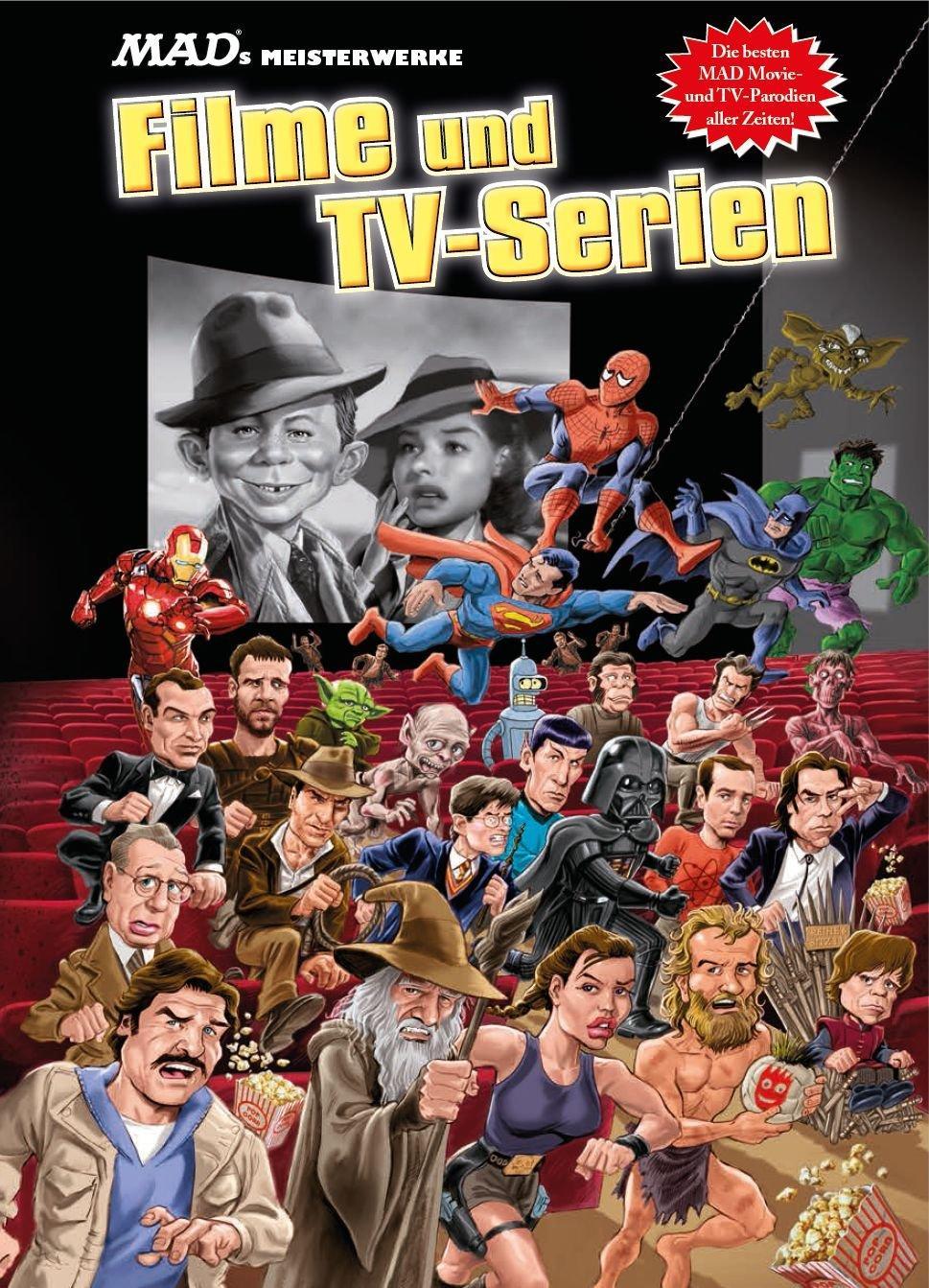 MAD's Meisterwerke: Filme und TV-Serien • Germany • 2nd Edition - Dino/Panini