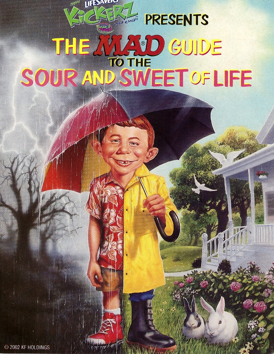 The MAD Guide To The Sweet & Sour Life • USA • 1st Edition - New York