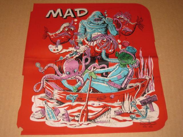 MAD Binder Vinyl Cover w/ Alfred E. Neuman • USA