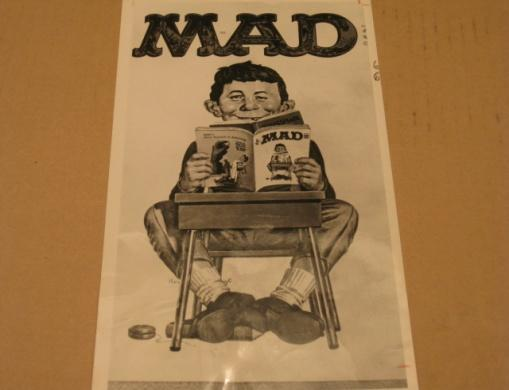 Newspaper Photo MAD Magazine / Original 1966 • USA