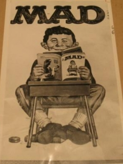 Go to Newspaper Photo MAD Magazine / Original 1966 • USA