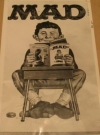 Newspaper Photo MAD Magazine / Original 1966