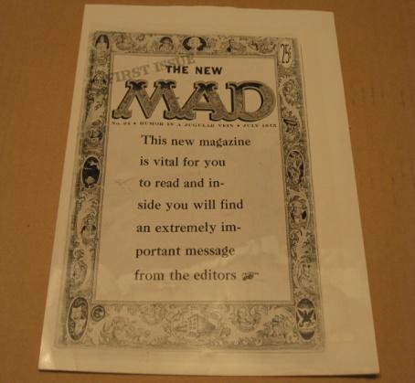 Newspaper Photo MAD Magazine / Original 1969 • USA