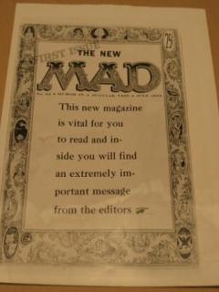 Go to Newspaper Photo MAD Magazine / Original 1969 • USA