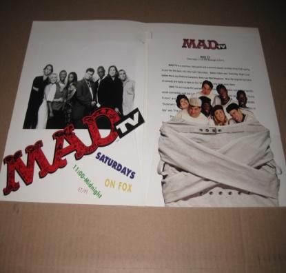 'MAD TV' Show -  Press Kit w/ Original Envelope • USA