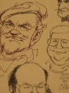 Image of Usual Gang Of Idiots Caricatures Drawn By Bob Clarke