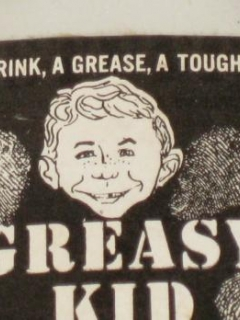 Go to Greasy Kid Stuff Lotion Bottle w/ Alfred E. Neuman On The Label • USA