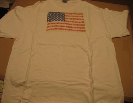T-Shirt Al Jaffee American Flag 9/11 Tribute • USA