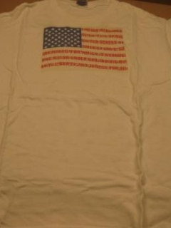 Go to Al Jaffee American Flag T-Shirt 9/11 Tribute