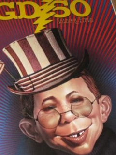 Go to Display Poster The Grateful Dead (AEN as Jerry Garcia Version) • USA