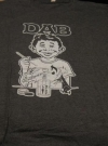 Image of DAB T-Shirt w/ Alfred E. Neuman & MAD Magazine Logo Swipe