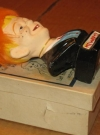 "Image of Alfred E. Neuman ""Fuzzy-Hair"" Bust w/ Original Tag & Storage Box"