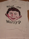 Alfred E. Neuman T-Shirt (Canada) Manufactor: Watson Brothers Publication Date: 1988