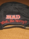 Image of What, Me Worry Baseball Cap - Back