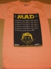 """I Will Never Read MAD In Class Again"" T-Shirt (USA) Manufactor: Sun Sportswear Publication Date: 1988"