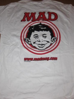 Go to T-Shirt MADMAG.COM Promotional • USA