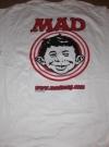T-Shirt MADMAG.COM Promotional (USA) Manufactor: E.C. Publications Publication Date: 2000